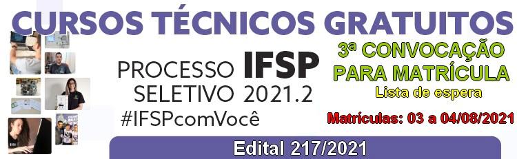 Cursos Técnicos - 3ª Convocação para matrícula - Informática e Eletroeletrônica (Conc./Subs.)