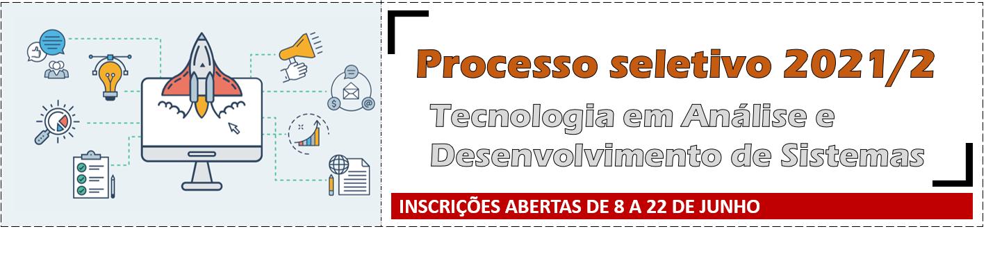 Tecnologia em Análise e Desenvolvimento de Sistemas - Inscrições abertas