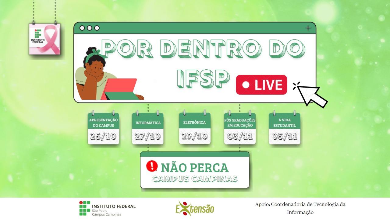 Por dentro do IFSP