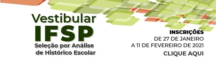 Vestibular IFSP: inscrições abertas para 2.240 vagas em cursos superiores gratuitos